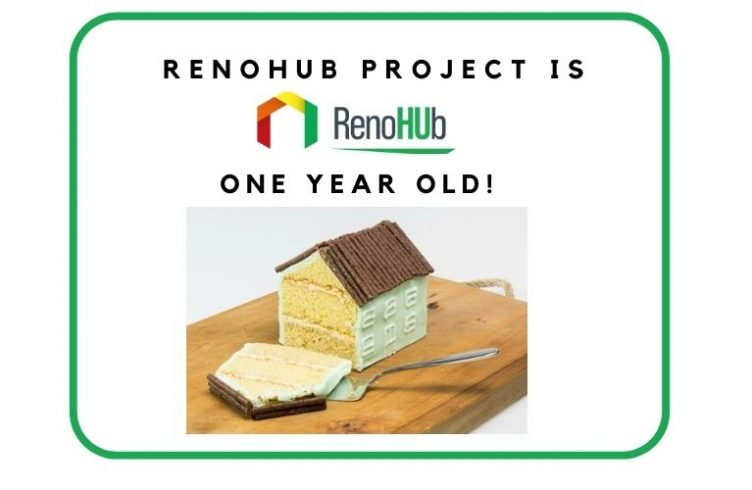 RenoHUb project is one year old!